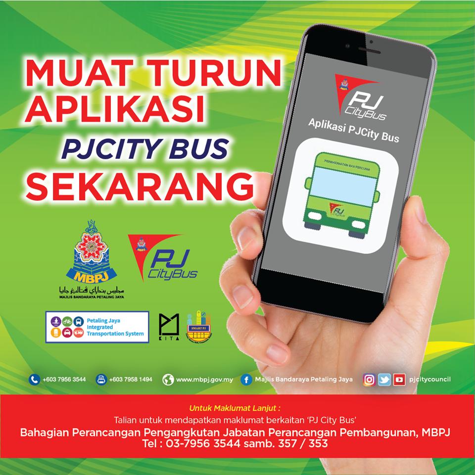 Applikasi PJCity Bus
